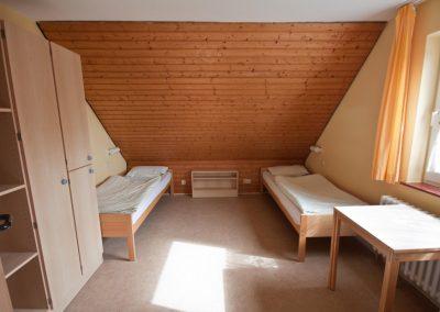 Doppelzimmer im Obergschoss des Gästehauses I